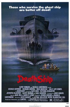 vintage horror movie posters | Death Ship Vintage Horror Movie Posters
