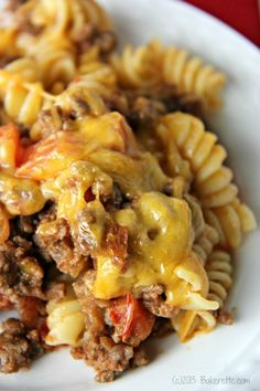 5-Star Cheeseburger Casserole