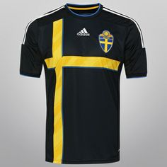 Camisa Adidas Seleção Suécia Away 2014