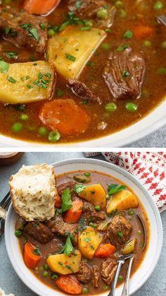 Best Beef Stew Recipe, Easy Beef Stew, Stew Meat Recipes, Mexican Food Recipes, Cooking Recipes, Crockpot Recipes, Recipes With Beef Stew Meat, Stewing Beef Recipes, Easy Beef Recipes