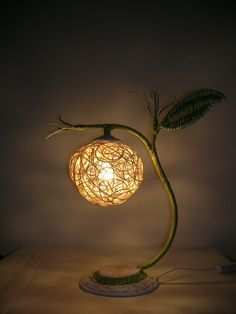 Rustic Table Lamp #home #lamp www.loveitsomuch.com