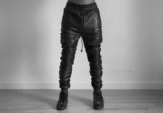 Basic Lambskin Sweatpant No.2 Now Available  www.AuCourant.co/shop