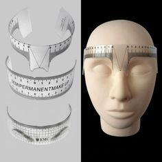 Reusable-Eyebrow-Stencil-Makeup-Microblading-Measure-Tattoo-Ruler-Semi-Permanent