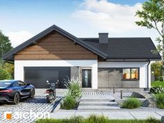 gotowy projekt Dom w widliczkach 3 House Plans, House Design, How To Plan, Architecture, Building, Outdoor Decor, Home Decor, Dreams, Kitchens