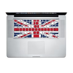 keyboard decal  UK FLAG Macbook Stickers Macbook by elevawow, $6.88