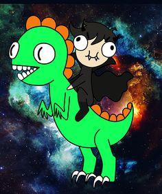 MarcusDelicious e Oswaldo o Dinossauro