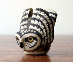 Gustavsberg Owl by Edvard Lindahl #owl #vintage