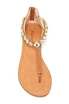Ziginy | Fatine Embellished Sandal | Nordstrom Rack