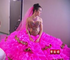 sister of the bride dresses | Is this the most outrageous wedding dress ever? Gypsy bride walks down ...