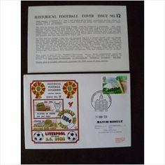 1984 Liverpool v A S Roma Dawn Historical Football Cover 11 European Cup Final on eBid United Kingdom