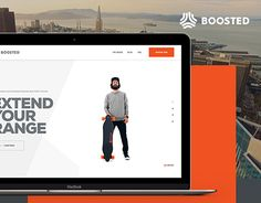 To launch the 2nd Generation Boosted Boards we created a homepage to pre-order the new boards.