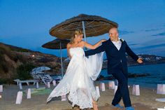 Celebrate your wedding day in the famous island of Mykonos, in a most romantic and beautiful setting, where the sun sets gracefully over the Aegean Sea, lighting the sky with indescribable hues of oranges and pinks.