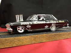 Drag Slot Car built by Sheaves Racing Slots