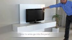 Youtube video for Ikea floating wall cabinets.