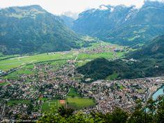 A birds eye view of Interlaken from Harder Kulm - Things to Do in Interlaken - The Trusted Traveller