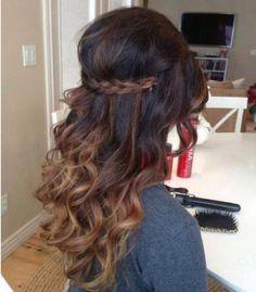 awesome v cut • layered • long layers • long hair • long ...