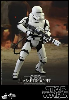 Star Wars The Force Awakens: Hot Toys 1/6 First Order Flametrooper. Official Review with No.15 Big Size Images, Full English Info http://www.gunjap.net/site/?p=279334