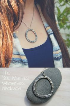 A necklace to connect you to the wholeness inside you.