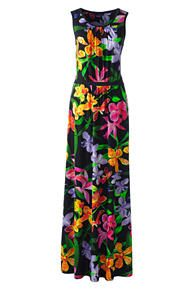 Sleeveless Shirred Maxi Dress- like the style, do not like the floral style, too bold.