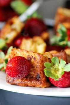 French Toast Strawberry Kabobs #Sunday Supper #FLStrawberry @FlaStrawberries - Recipes Food and Cooking