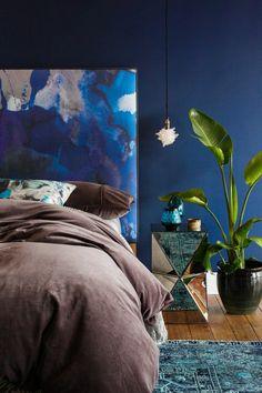 Peinture bleu canard on pinterest peinture bleu bleu canard and chambre bleu - Decoration bleu canard ...