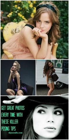 Perfect posing tips from a real professional! Get great photos every time with these killer posing tips