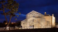 Photos: Centuries of Italian history come back to life through mind bending wire-mesh structures — Quartz