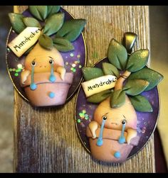 Polymer Clay Figures, Cute Polymer Clay, Polymer Clay Flowers, Polymer Clay Projects, Polymer Clay Charms, Polymer Clay Creations, Clay Crafts, Diy And Crafts, Harry Potter Ornaments