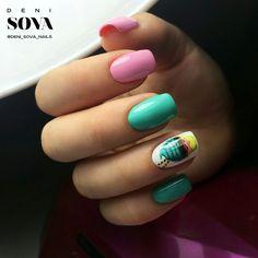#nail #summer #nail_art #nail_summer #летний_маникюр #лето #ногти #маникюр