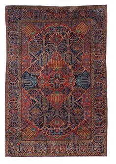 Persian Keshan Mohtashem rug, early 20th c