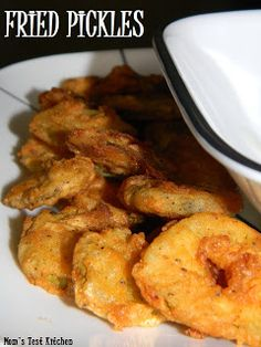 Fried Pickles - I love fried pickles - I'll have to try these one weekend when I want to splurge!