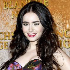 Bold brows are back, and if you're in doubt, look to #LilyCollins for proof. At the #MirrorMirror premiere in Paris, the actress set off her natural arches with a red lip and soft eye makeup. http://celebrityphotos.instyle.com/dailybeautytip/photos/results.html?No=0