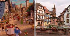15 locaciones reales en las que Disney se inspiró para hacer su magia realidad