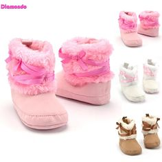 New Baby Shoes Soft Bottom Antiskid Toddler Kids Polka Dot Bowknot Crib Shoes Hot Sale Y6 Mother & Kids