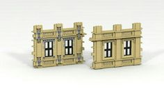Lego window and wall details