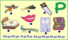 ABECEDA PÍSMENO P Activities For Kids, Kids Rugs, Education, Logos, Children, Toddlers, Boys, Kid Activities, Logo