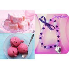 """""""Bijoux // Candy Corner"""" mod. cuore e perle"""
