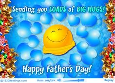 """Today is a tribute to all Father""""s,,you don't have a reason to frown but be happy today, tomorrow and all the time...."""