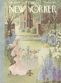 Mary Petty : Cover art for The New Yorker 1796 - 18 July 1959
