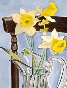 Daffodils and Celery - Lucian Freud