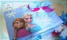 Comodazinha em MDF da Frozen, arte em madeira, artesanato infantil