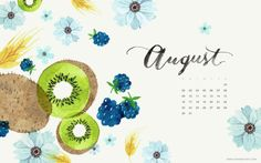 Oana Befort  August calendar!