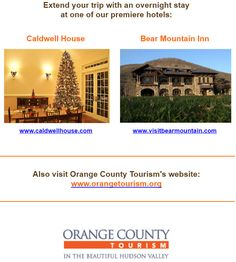 """Proud to be called a """"Premier Hotel"""" by OC Tourism!  #hudsonvalley #bedandbreakfast #hotel #ocny #countryinn"""