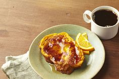 There's nothing not to like about this Make-Ahead Pumpkin French Toast: It's convenient, made with challah bread and served with maple syrup!