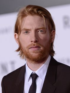 Domhnall Gleeson - the more I see him the more appealing he is to me, I mean I don't know