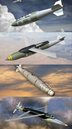 Boeing Joint Direct Attack Munition (JDAM) tail kit assembly for the Military Weapons, Military Aircraft, Fire Powers, Military Equipment, Relentless, Armored Vehicles, War Machine, Rockets, Military History