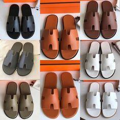 Hermes man slippers casual slides high quality version e69ef21d2
