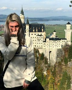 Ghostemane at Neuschwanstein Castle Yung Pinch, Cloud Rap, Fat Nick, Underground Rappers, Best Music Artists, Denzel Curry, Black Mage, Songs To Sing, Types Of Music