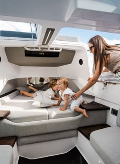 Yacht Interior, Interior Design, Lead Roof, Above Cabinets, Side Deck, Windshield Washer, Cool Boats, Fresh Water Tank