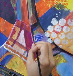 EIFELL TOWER/ eifelovka Výtvarné kurzy VytFit- Zážitkové, tvorivo- experimentálne kurzy kreslenia, malovania pre každého, Kreatívne dielne v oblastiach kresba, malba, grafika, úžitkové umenie, príprava na SŠ, VŠ- architektúra, design, animovaná tvorba, teambuildingové akcie a workshopy pre firemné kolektívy Painting, Painting Art, Paintings, Painted Canvas, Drawings